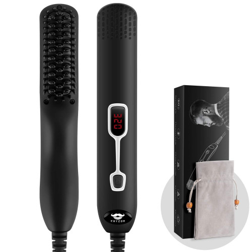 Cayzor 5-Level Beard Straightener Comb with LCD