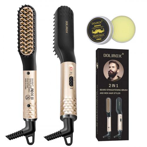 DOLIROX Beard Straightener Comb