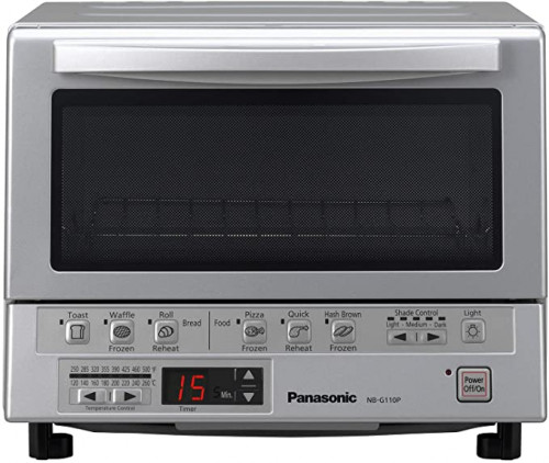 Panasonic FlashXpress Toaster Oven Compact Double Heating