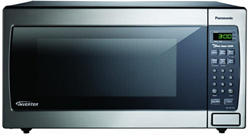 Panasonic Stainless Countertop NN-SN773SAZ Built-In Microwave