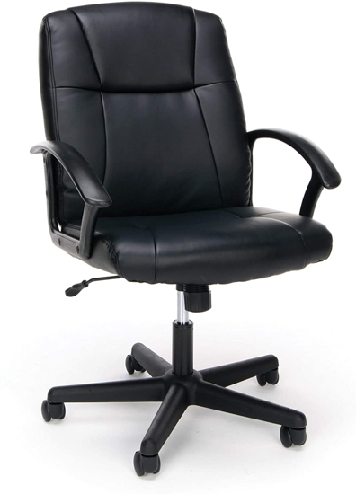 OFM Essentials Executive Office Collection Chair Leather