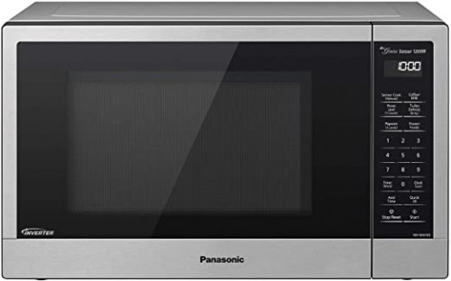 Panasonic Oven 1200 Watts Cooking Power Compact Microwave Popcorn