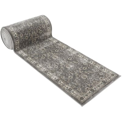 25' Stair Runner Rugs - Luxury Bergama Collection Stair Carpet