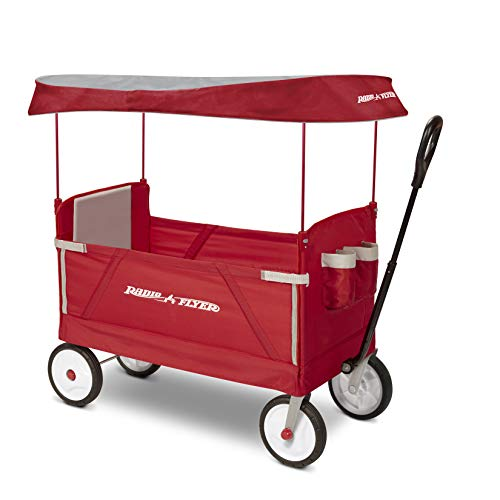 Radio Flyer 3 in 1 Folding Wagon for Kids