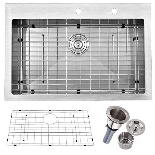 Friho Commercial Drop-in Stainless Steel Kitchen Sink