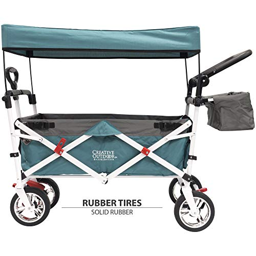 Creative Outdoor Push Pull Folding Wagon