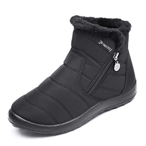 Gracosy Warm Snow Boots for Women