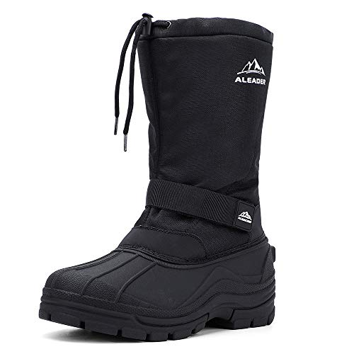 ALEADER Insulated Winter Snow Boots for Men