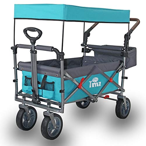 TMZ Utility Folding Wagon with Canopy