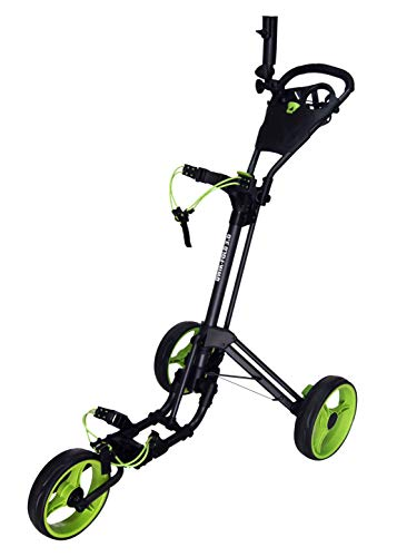 Qwik-Fold Three Wheel Push Pull Golf Cart