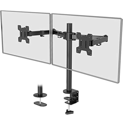 WALI Dual Monitor Stand for Desk