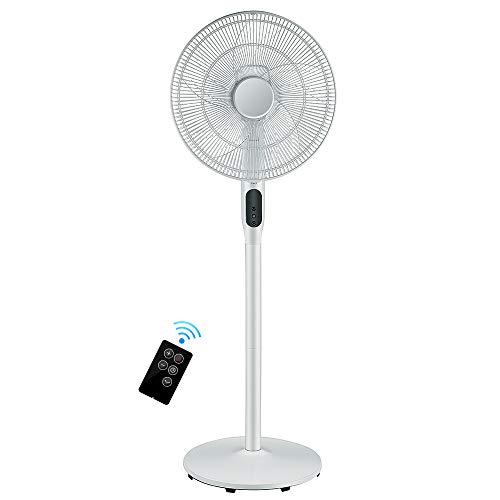 Oscillating Pedestal Fan with Remote