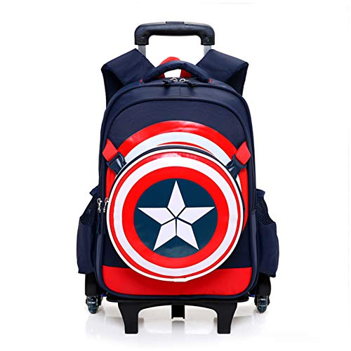 Gloomall Rolling Backpack for Boys