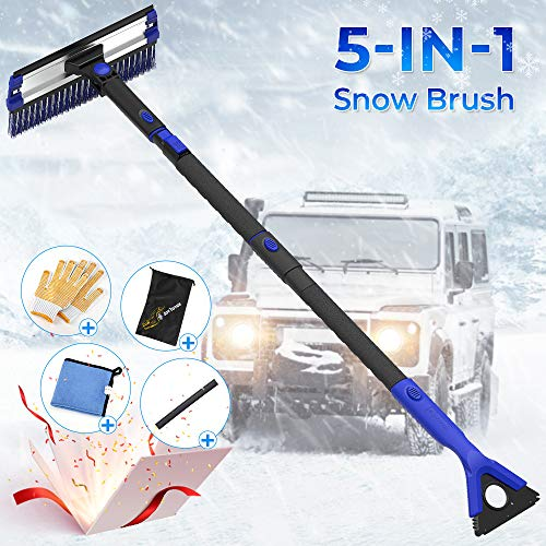 JOYTUTUS Extendable Snow Brush
