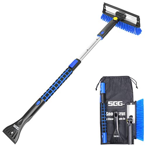 SEG Direct Extendable Snow Brush with Ice Scraper
